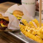 Menü bei Shake Shack in Brooklyn