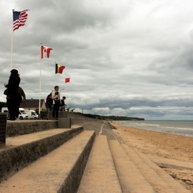 Omaha Beach Richtung Westen