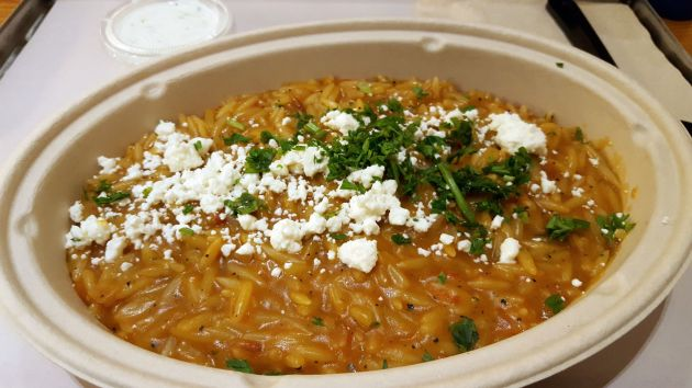 Orzo Bowl bei GRK