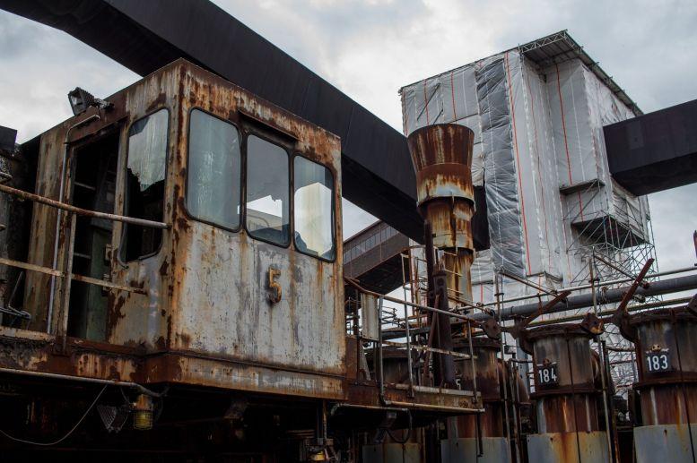 Einfüllgerät für Kohle Zeche Zollverein