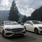 Mercedes-Benz A45 AMG und C63S am Reschensee