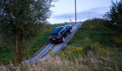 Porsche Cayenne Steigung