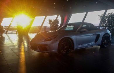 Porsche Musem Besucherzentrum Leipzig