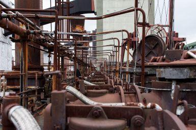 Rohranlagen Zeche Zollverein