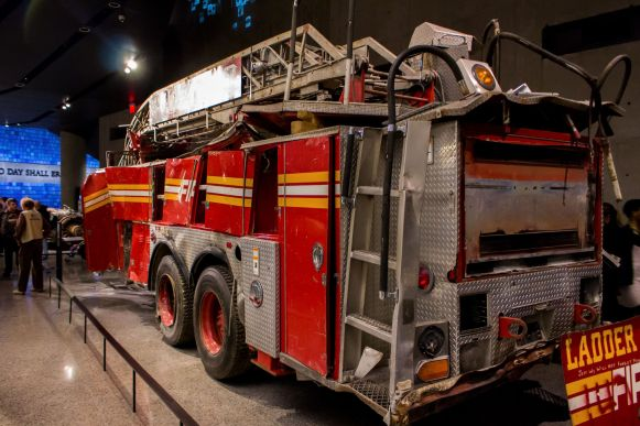 Ladder 3 Fire Engine NYFD 9 11 Museum World Trade Center