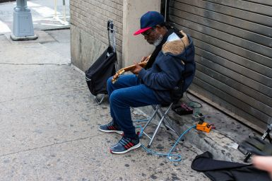 Bass Player in Brooklyn, New York City