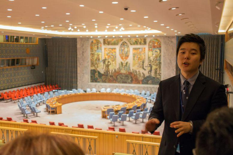 Führung im UN Sicherheitsrat