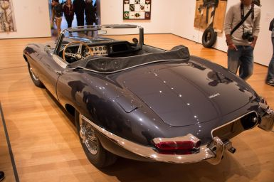 Jaguar E-Type im MoMA