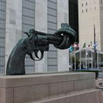 Knotted Gun UN Headquarters NYC