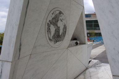 Kunstwerk UN Hauptquartier