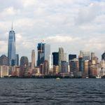 Lower Manhattan from Ellis Island