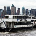 NY Waterway Ferry on Hudson River