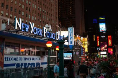NYPD am Time Square
