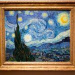 Starry, Starry Night von Vincent van Gogh, im Museum of Modern Art