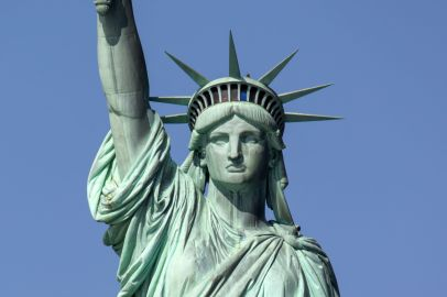 Statue of Liberty Gesicht