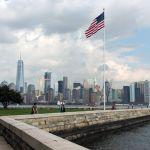 US Flagge Ellis Island