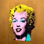 Warhol Golden Marilyn Monroe, MoMA