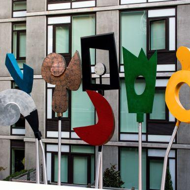 Artwork at Highline New York City