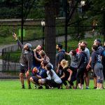 Guys taking Selfie in Central Park