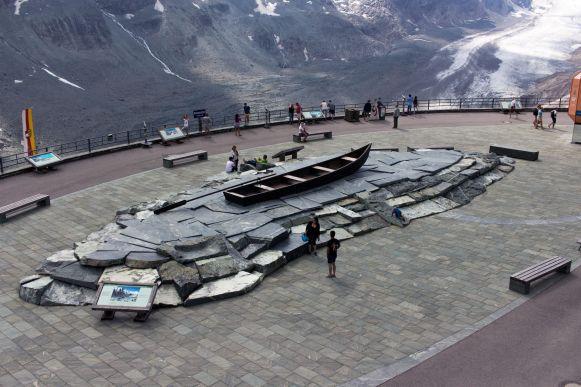 Boot auf der Franz-Josephs-Höhe