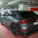 Audi Q8 50 TDI quattro Heckansicht