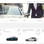 Audi on demand Webseite