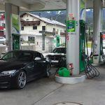 BP Tankstelle in Österreich