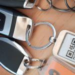 QR Code am Audi S5 Schlüssel von Audi On Demand