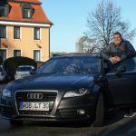 Robert mit Audi A4 3.0 TDI S-Line quattro
