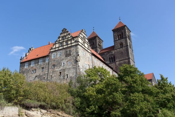 Burg in Quedlinburg