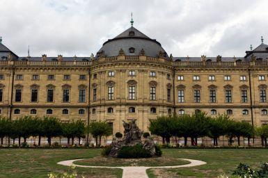 Garten der Würzburger Residenz