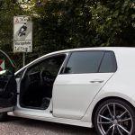 Golf 7R an der Kyffhäuser-Abfahrt
