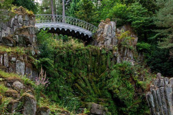 Teufelsbrücke im Bergpark Wilhelmshöhe, Kassel