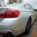 BMW 440i Coupé Seitenlinie