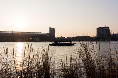 Boot auf dem Ij, Amsterdam