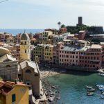 Vernazza, Cinque Terre von oben