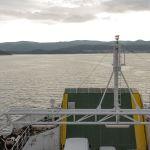 Überfahrt mit der Fähre nach Korcula, Kroatien
