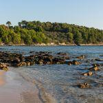 Strand von Lumbarda auf Korcula