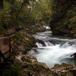 Vintgar Klam nahe Bled, Slowenien