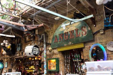 Angels im Szimpla Kert, Budapest, Ungarn