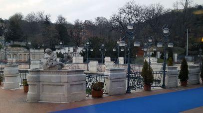 Außengelände Gellért-Bad, Budapest
