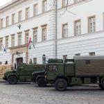 Komondor Panzerwagen in Budapest, Ungarn