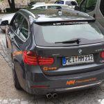 335d xDrive Touring zu schnell