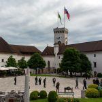 Burghof in Ljubljana