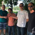 Das Orgateam und Team AllgäuRacing in Budapest