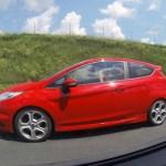 Ford Fiesta ST auf der ungarischen Autobahn