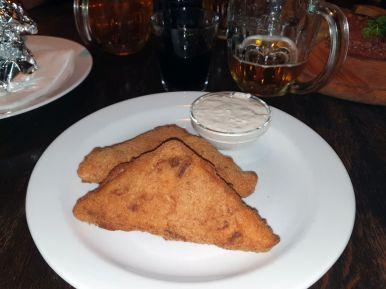 Frittierter Käse in Prag