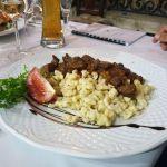 Gulasch im Százéves Étterem