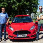 Team AllgäuRacing mit Fiesta ST