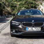 BMW 4er Gran Coupé auf der Strada Statale Amalfitana